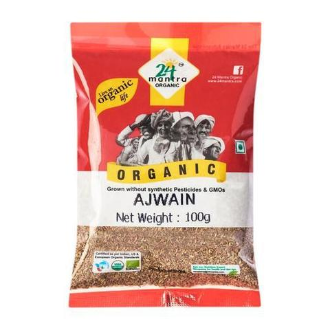 24 Mantra Ajwain 7 OZ (198 Grams)