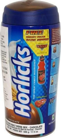 Horlicks Malt Drink Mix (Chocolate) 500 Grams (17.5 OZ)