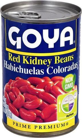 Goya Red Kidney Beans 15 OZ (442 Grams)