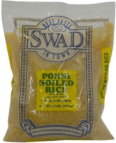 Swad Ponni Boiled Rice 4 LB