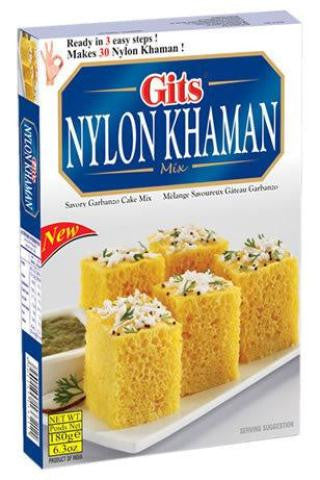 Gits Nylon Khaman Mix 180 Grams (6.3 OZ)