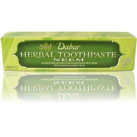 Dabur Neem Herbal Toothpaste 3.38 OZ (100 ML)