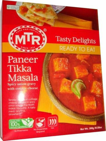 MTR Paneer Tikka Masala Spicy Onion Gravy With Cottage Cheese 300 Gm