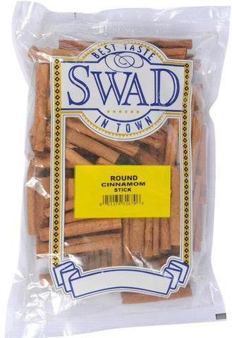 Swad Cinnamon Stick (Round) 3.5 OZ (100 Grams)