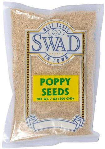 Swad Poppy Seeds 7 OZ (200 Grams)