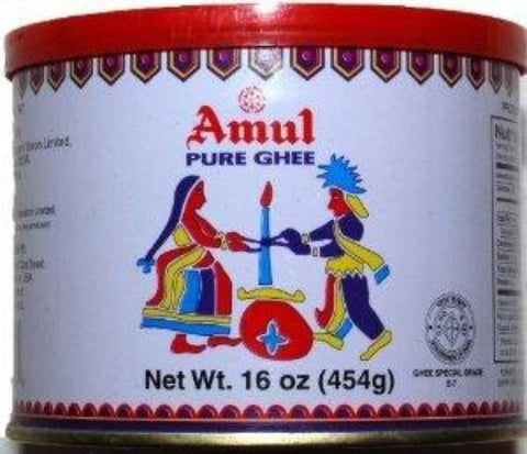Amul Pure Ghee 1 LB (16 OZ) 454 Grams