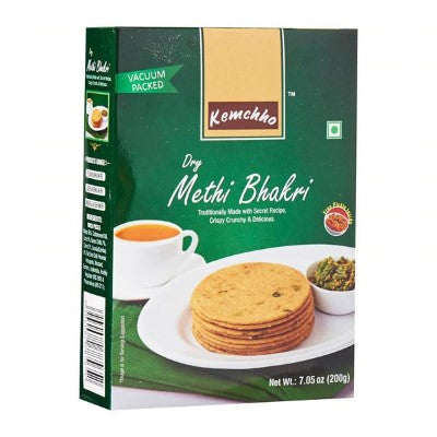 Kemcho Dry Methi Bhakri 7.05 OZ (200 Grams)