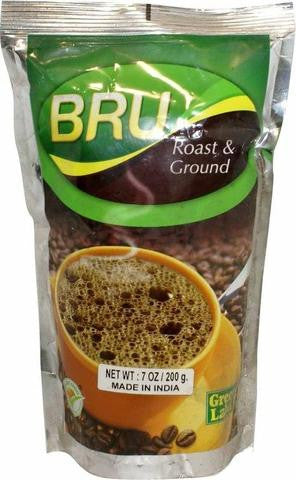 Bru Green Label Roast & Ground Coffee 7 OZ (200 Grams)