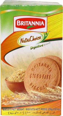 Britannia Nutri Choice Digestive Biscuit 250 Grams (8.81 OZ)