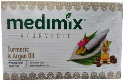 Medimix Ayurvedic Turmeric & Argan Oil Soap 125 Grams