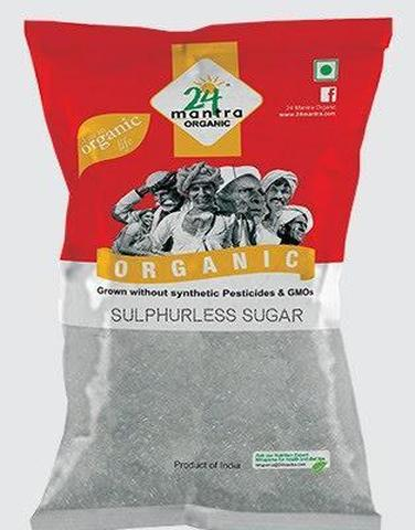 24 Mantra Sulphur Less (white) Sugar 2 LB (907 Grams)