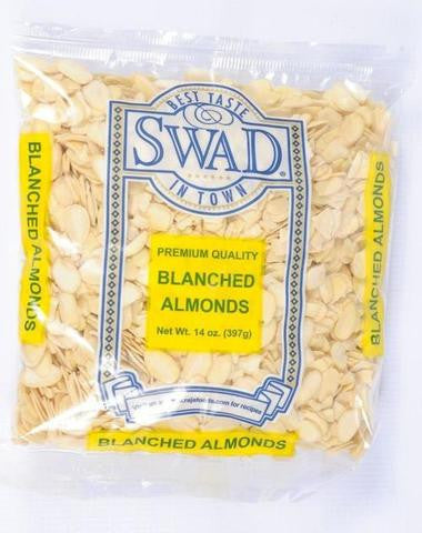 Swad Almonds Blanched 14 OZ