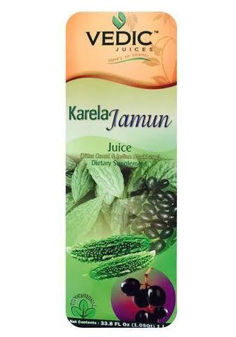 Vedic Juices Karela Jamun Dietary Supplement Juice 1 Liter