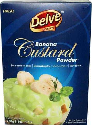 Shan Delve Desserts Banana Custard Powder 8.8 OZ (250 Grams)