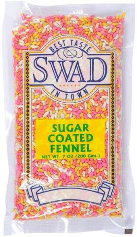 Swad Sugar Coated Fennel 7 OZ