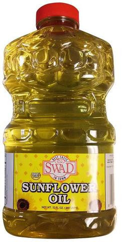 Swad Sunflower Oil 32 FL OZ