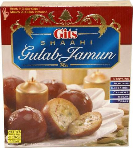 Gits Shaahi Gulab Jamun Mix 150 gm (5.25 OZ)