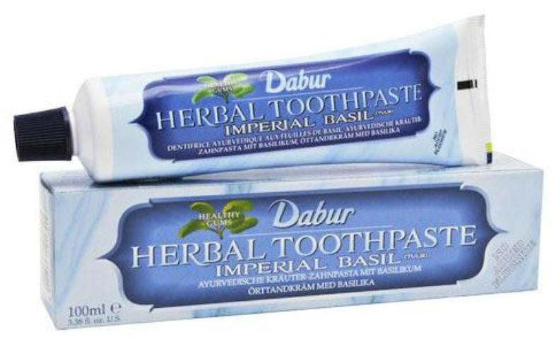 Dabur Herbal Toothpaste Imperial Basil Tulsi