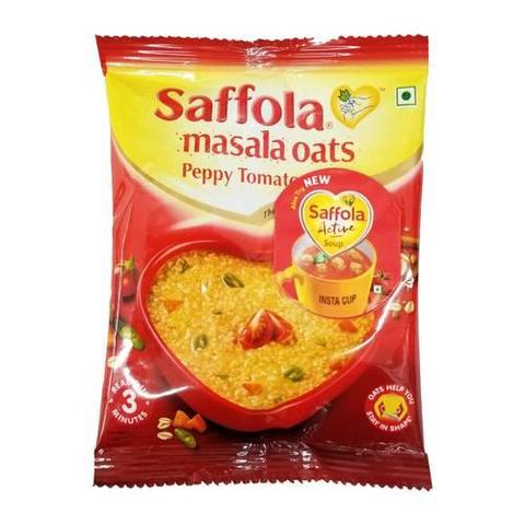 Saffola Masala Oats Peppy Tomato 1 OZ (39 Grams)