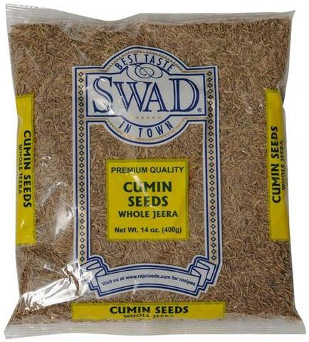 Swad Cumin Seeds 14 OZ (400 Grams)