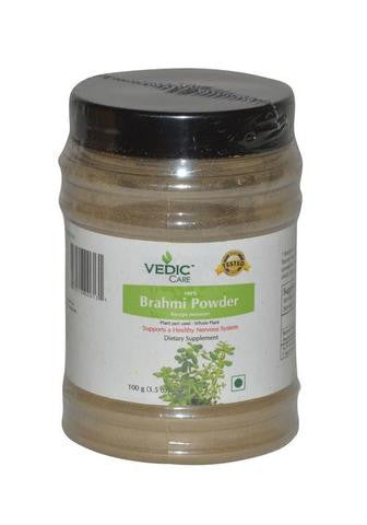 Vedic Care 100% Brahmi Powder Bacopa Monnieri (Dietary supplement)