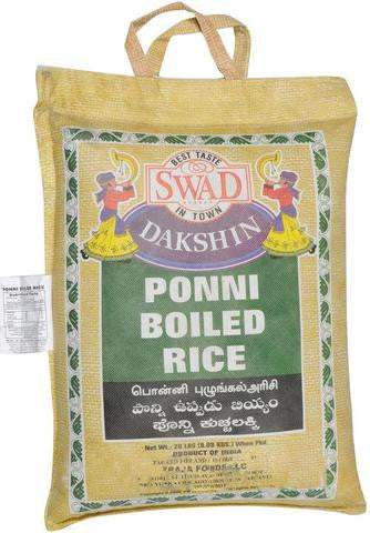 Swad Ponni Boiled Rice 20 LB