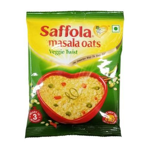 Saffola Masala Oats Veggie Twist 1 OZ (39 Grams)