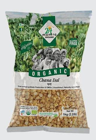 24 Mantra Chana Dal 2 LB (907 Grams)