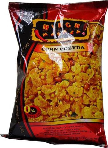 Mirch Masala Corn Chevda 340 Grams (12 OZ)