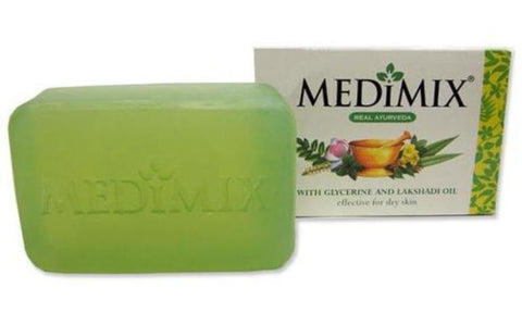 Medimix Glycerine And Lakshadi Oils Ayurvedic Soap 4.41 OZ (125 Grams)