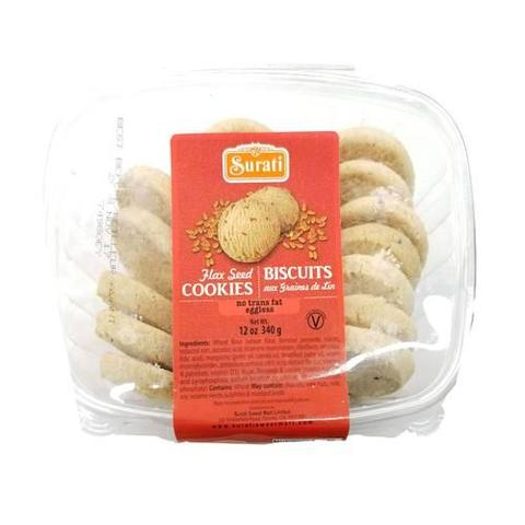 Surti Flax Seed Cookies 12 OZ (340 Grams)