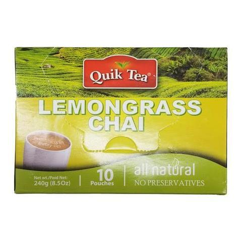Quik Tea Lemongrass Chai 8 OZ (241 Grams)