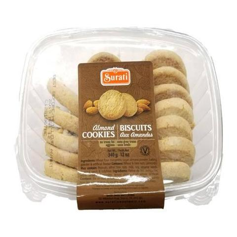Surti Almond Cookies 12 OZ (340 Grams)