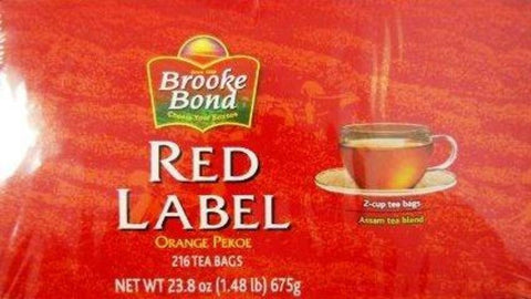 Brooke Bond Red Label Tea 23.8 OZ (675 Grams)