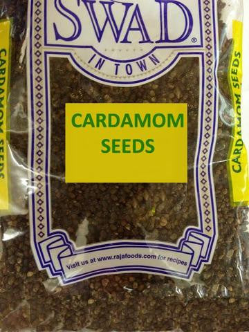 Swad Cardamom Seeds 3.5 OZ (100 Grams)