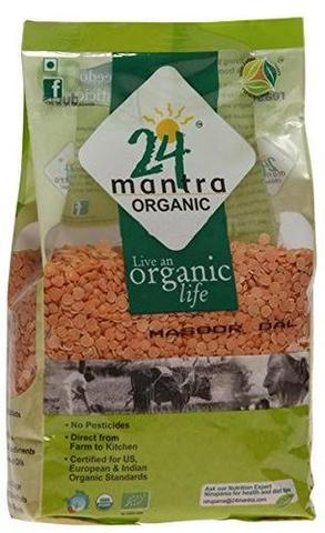 24 Mantra Masoor Whole Designed 2 LB (907 Grams)