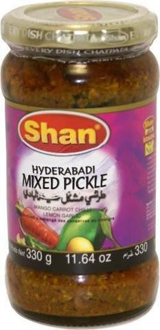 Shan Hyderabadi Mixed Pickle 330 Grams (11.64 OZ)