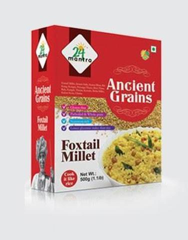 24 Mantra Foxtail Millet 18 OZ (500 Grams)