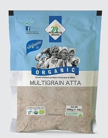 24 Mantra Multi Grain Atta 2 LB (907 Grams)
