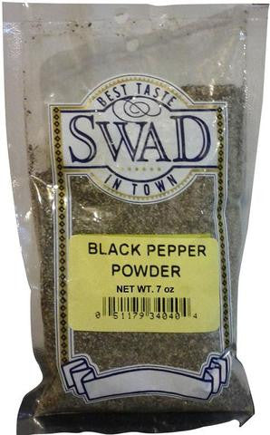 Swad Black Pepper Powder 7 OZ (200 Grams)