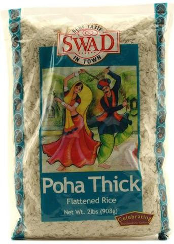 Swad Poha Thick Flattened Rice 2 LB