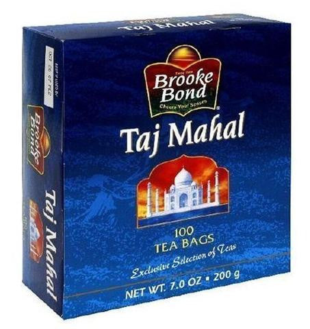 Brooke Bond Taj Mahal Tea Bags 7 OZ (200 Grams)