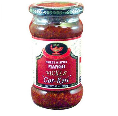Deep Pickle Gorkeri 12 OZ (340 Grams)