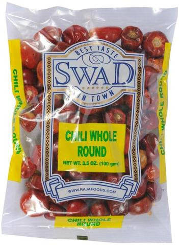 Swad Chili Whole Round 3.5 OZ