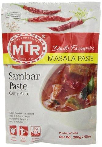 MTR Sambar Paste (Curry Paste) 200 Grams (7.05 OZ)