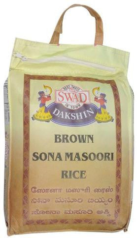 Swad Brown Sona Masoori Rice 10 LBs