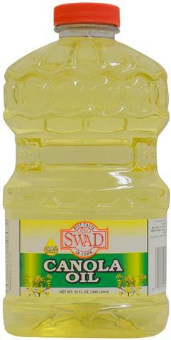 Swad Canola Oil 32 FL OZ (0.946 Liters)