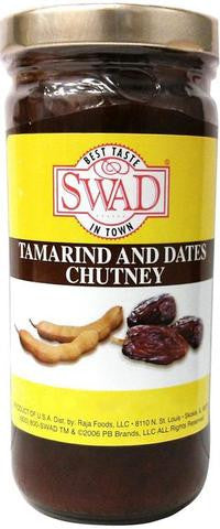 Swad Tamarind And Dates Chutney 8 FL OZ (226 Grams)