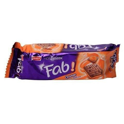 Parle Hide & Seek Fab Orange Cookies 3.5 OZ (100 Grams)