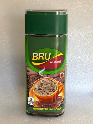 Bru Instant Coffee and Roasted Chicory 7 OZ (200 Grams)